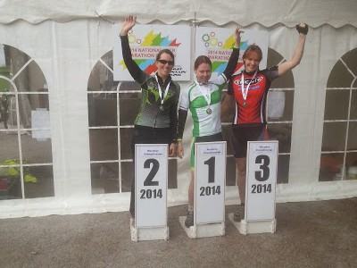 MAD Riders Podium At 2014 XC National Marathon Champs