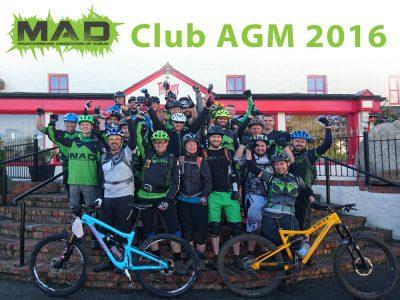 MAD AGM 2016 – Saturday 12th November