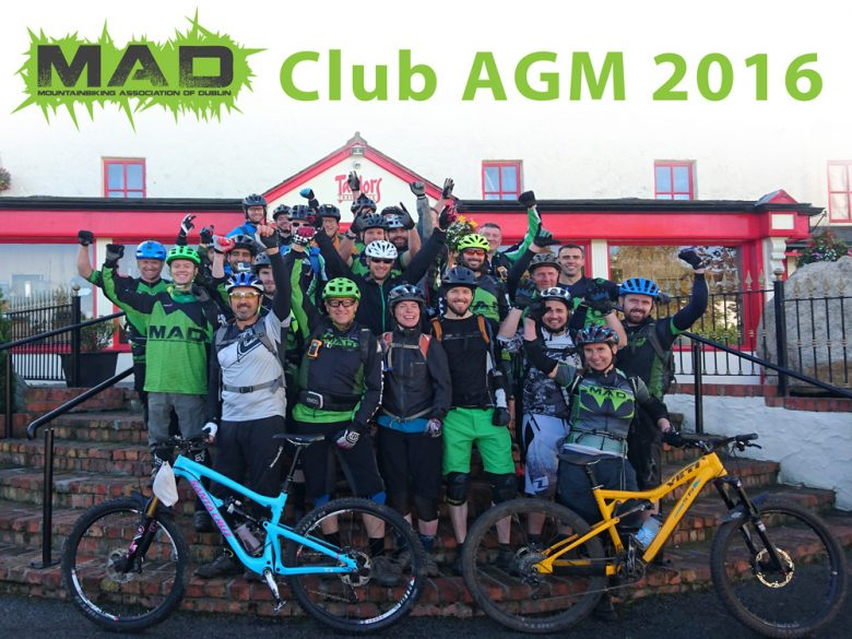 MAD AGM 2016 – Saturday 12th November